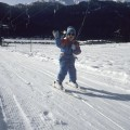Sempre a cinque anni comincio ad imparare a sciare - When I was five, I learned how to ski