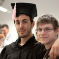Graduation Day, con l'amico Michele