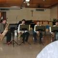 Quartetto di sassofoni, diretti dal nostro Maestro, Loris Colmaor - Saxophone quartet, directed by our Master Loris Colmaor