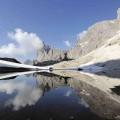 Il lago Pradidali nel gruppo delle Pale di San Martino - Praidali lake, Dolomites