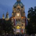 Il Rathaus, municipio, di Hannover - The Rathaus, Hannover