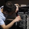 Manutenzione del Rack delle Camera Control Unit - Maintence of the Camera Control Unit