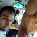 """Faccio partire la """"GoPro HD"""" per delle riprese di backstage durante un lavoro aereo - I start the """"GoPro HD"""" for backstage shootings during an aerial work"""
