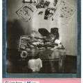 The shoemaker desk - 2013 - Tipico banchetto da calzolaio del Montebellunese - Pellicola Impossible PQ 8x10 - The classic shoemaker desk of Montebelluna - Impossible film PQ 8x10 - Impossible Bazan